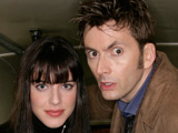 David Tennant and Michelle Ryan from Planet of the Dead