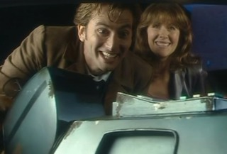 The Tenth Doctor, Sarah Jane and K9