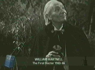 First Doctor William Hartnell