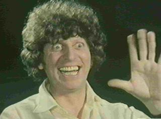 Tom Baker, the Fourth Doctor to return to Doctor Who